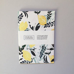 Chloe Hall Lemons A6 Notebook