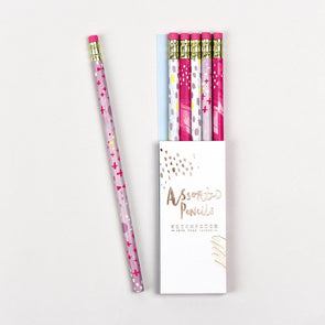 Stationery - Assorted Neon Pencils