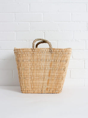 Reed Shopper Basket