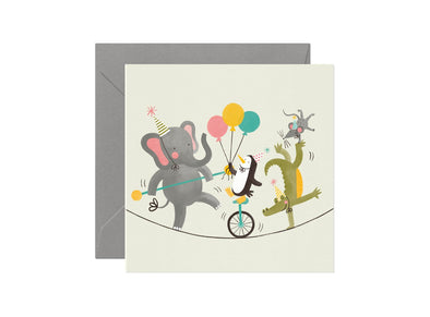 Birthday Circus Card