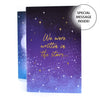 'Written In The Stars' Concertina Card