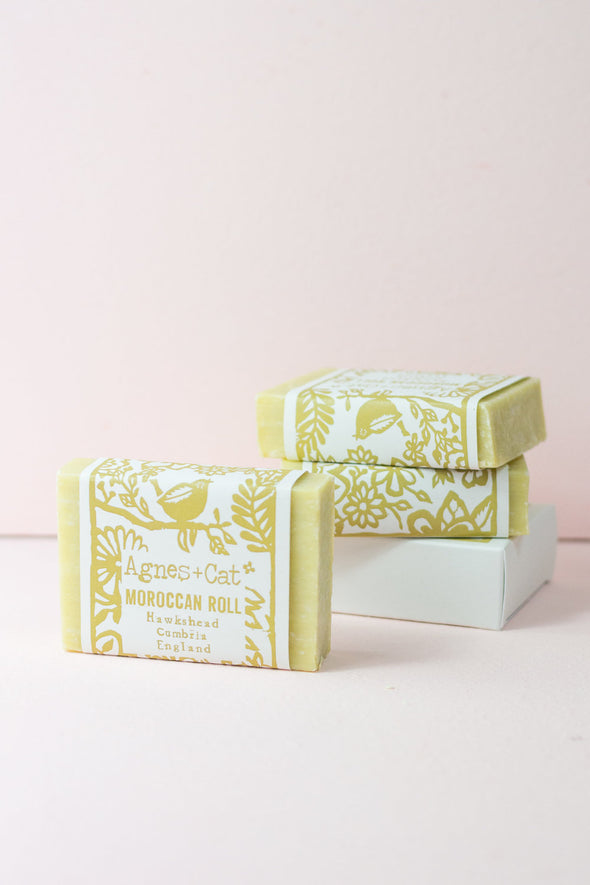 Moroccan Roll Fragranced Coconut Butter Soap