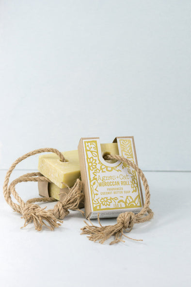 Moroccan Roll Fragranced Soap On A Rope