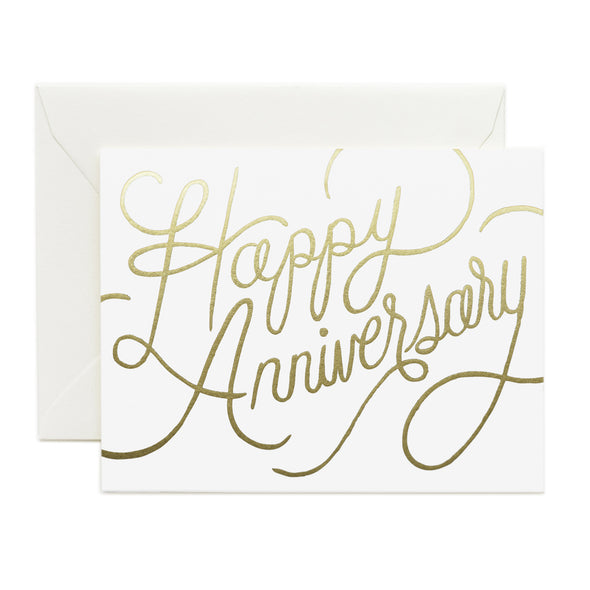Rifle Paper Co. Happy Anniversary Card