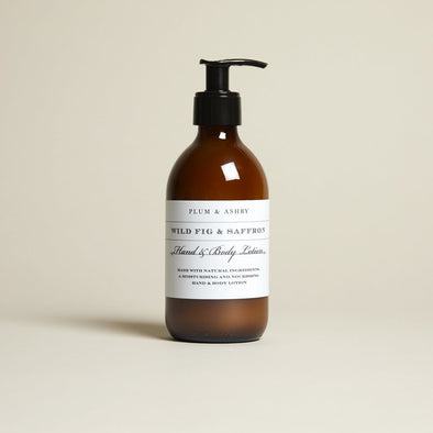 Plum & Ashby Wild Fig and Saffron Hand and Body Lotion