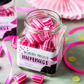 Raspberry Prosecco Alcoholic Humbugs