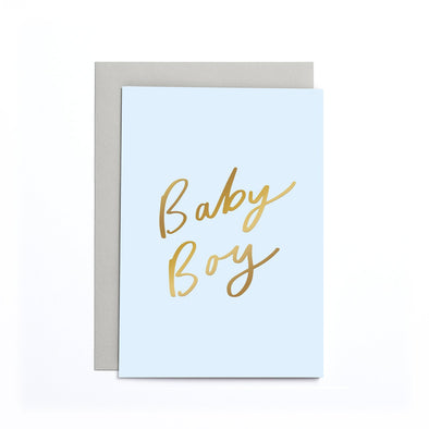 Newborn Card - Baby Boy