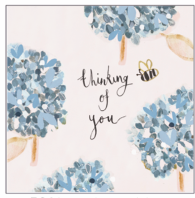 AV Thinking Of You Card