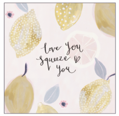 AV Squeeze You Card