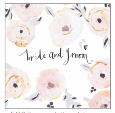 Anna Victoria Wedding Bloom Card