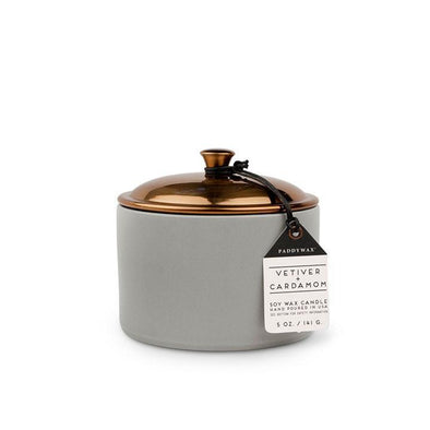 Paddywax Vetiver & Cardamom Hygge Soy Candle