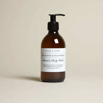 Plum & Ashby Wild Fig and Saffron Hand and Body Wash
