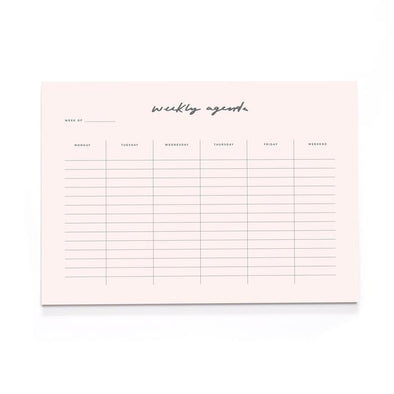 Stationery - Blush Pink Desk Pad