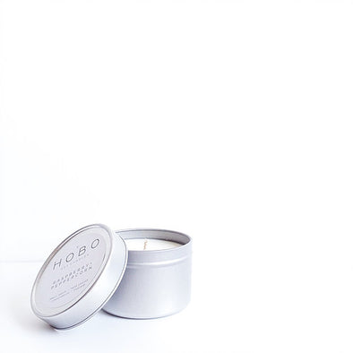 Raspberry + Peppercorn Soy Candle Travel Tin