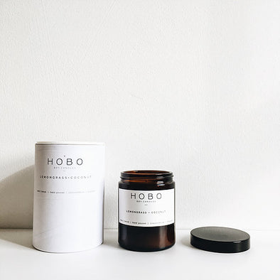 Lemongrass+ Coconut Soy Candle Medium Jar