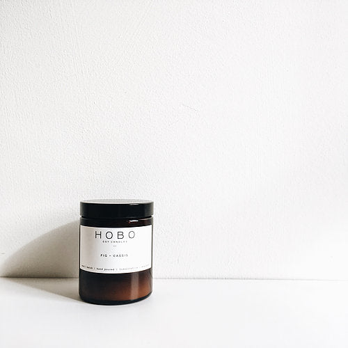 Fig + Cassis Soy Candle Medium Jar