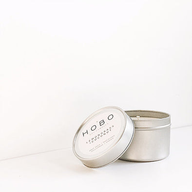 Lemongrass + Coconut Soy Candle Travel Tin