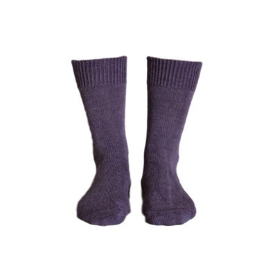 Alpaca Heather Everyday Socks