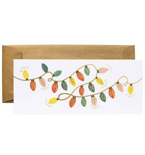 Rifle Paper Co. Be Merry and Bright Lights Card