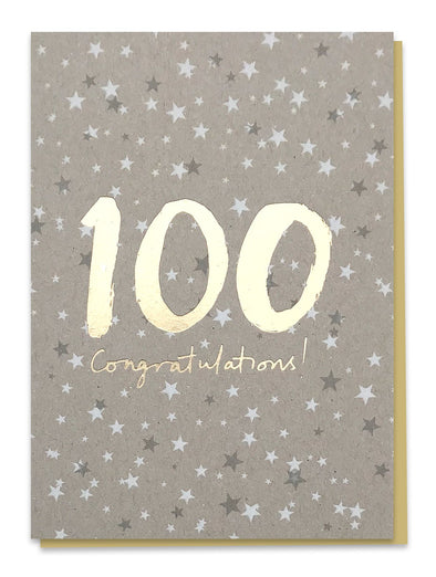 100 Congratulations! Card