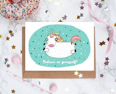 Greetings Card - Believe in Yourself