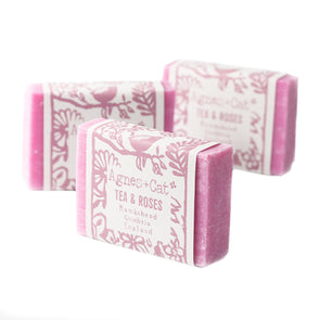 Tea And Roses Fragranced Coconut Butter Soap