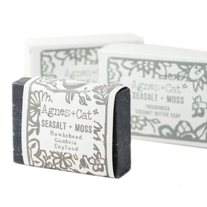 Seasalt and Moss Fragranced Coconut Butter Soap