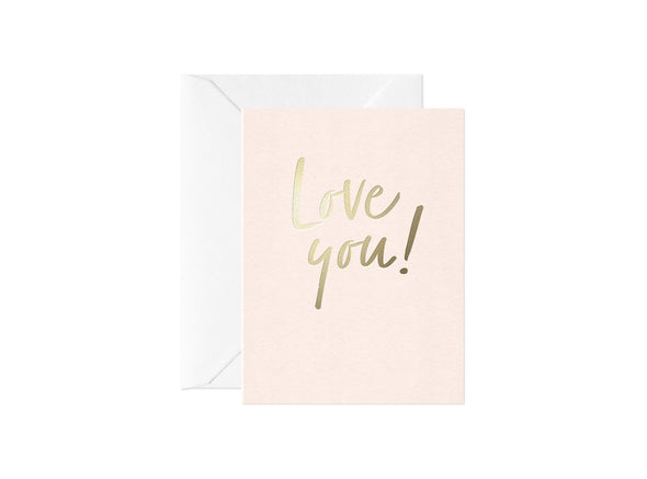 Mini Love You! Card