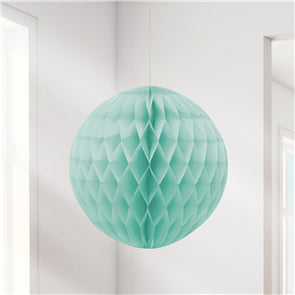 Mint Green Honeycomb Ball