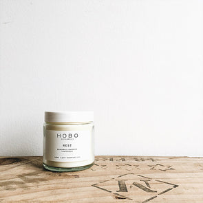Rest Essential Oil Aromatherapy Soy Candle
