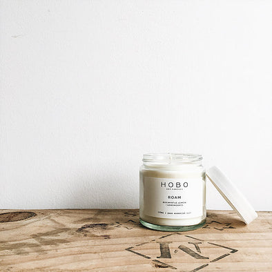 Roam Essential Oil Aromatherapy Soy Candle