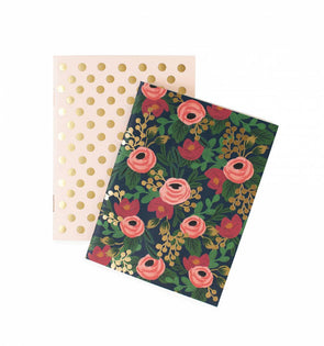 Rifle Paper Co. 2019 Pair of Rosa Pocket Notebooks