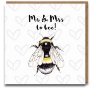 Mr & Mrs To Bee Card