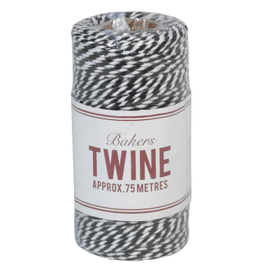 Kitchen Twine - Black and White