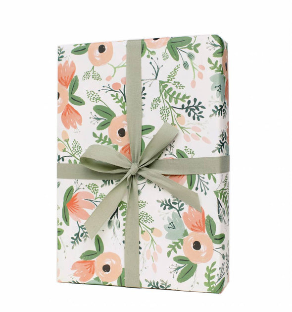 Rifle Paper Co. Set of 3 Wrap Sheets Wildflower