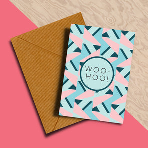 Woo-Hoo! Congratulations Card