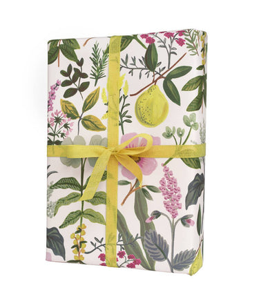 Rifle Paper Co. Set of 3 Wrap Sheets Herb Garden