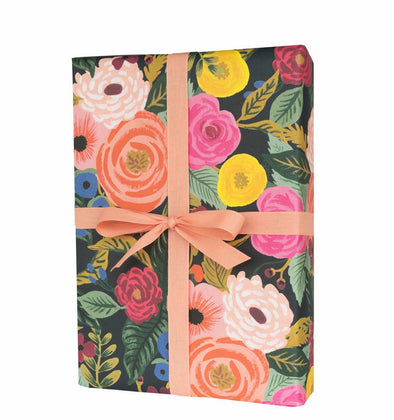 Rifle Paper Co. Set of 3 Wrap Sheets Juliet Rose