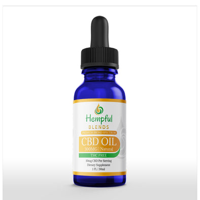 Broad Spectrum CBD Oil 300MG NO THC