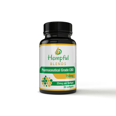 CBD SOFTGELS 25mg (No THC)