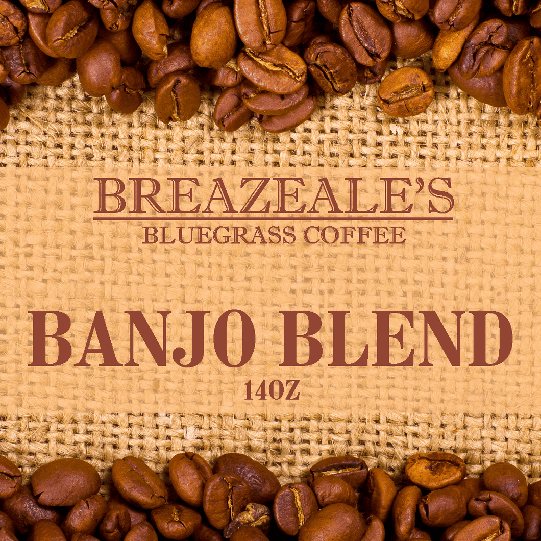 Breazeale's Grocery Bluegrass Coffee Banjo Blend