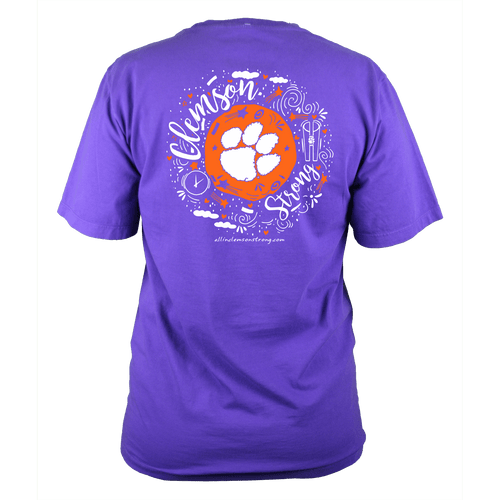 Clemson Strong - Purple T-Shirt