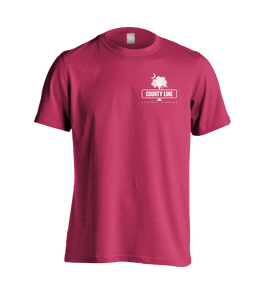 Hot Pink Shirt with the Palmetto CL Logo on the Front