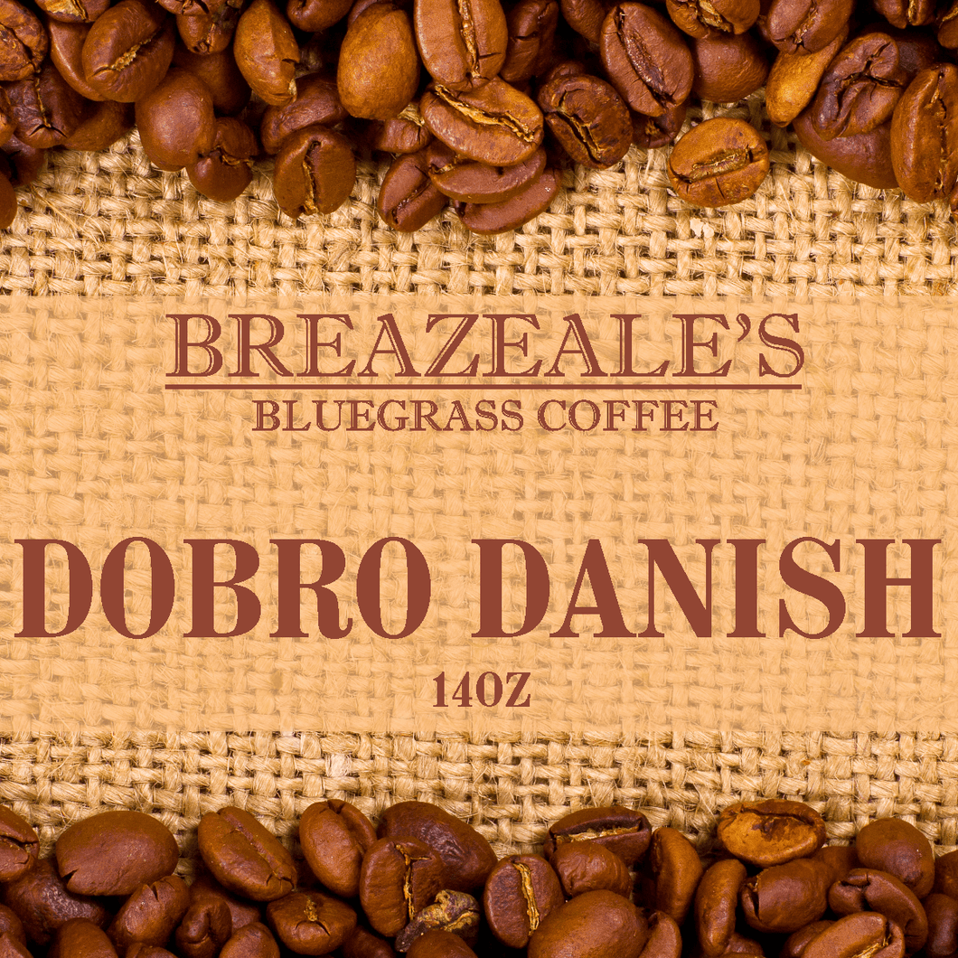 Breazeale's Grocery Bluegrass Coffee Dobro Danish