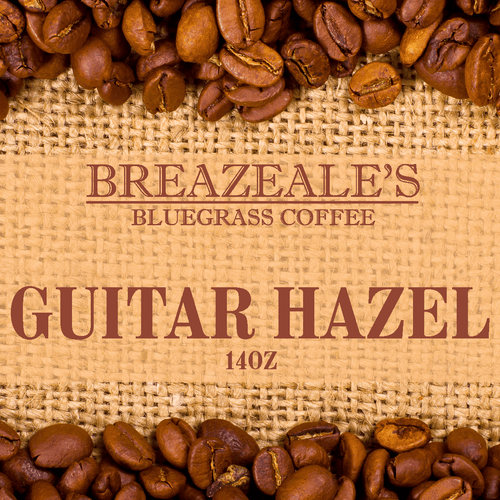 Breazeale's Grocery Bluegrass Coffee Guitar Hazel