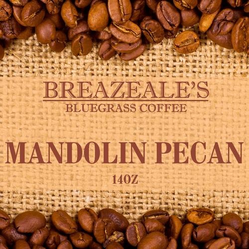 Breazeale's Grocery Bluegrass Coffee Mandolin Pecan