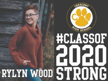 1 HALF DOZEN - Celebrate The Class of 2020 - Senior Yard Sign - 1 SIDE PRINT