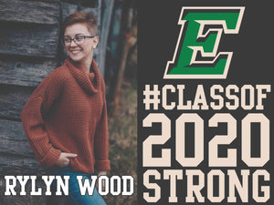 Celebrate The Class of 2020 - Senior Yard Sign - 1 SIDE PRINT