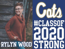 1 DOZEN - Celebrate The Class of 2020 - Senior Yard Sign - 1 SIDE PRINT