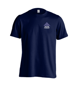 Fallen Soldier Sacrifice Shirt Navy Blue